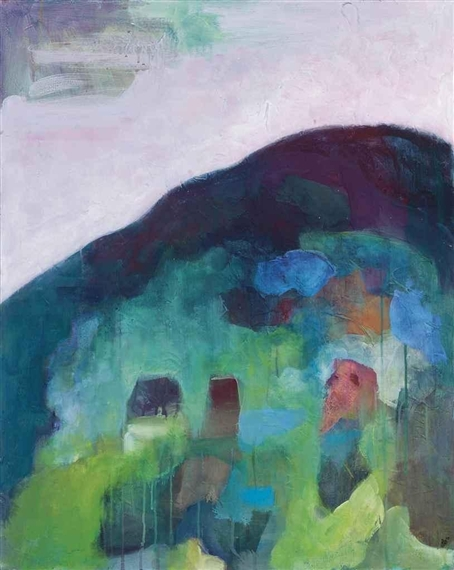 Boars Hill Acrylic on Canvas