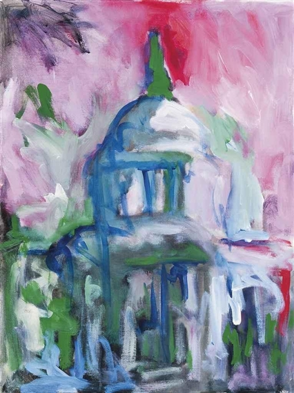 St Pauls's Acrylic on Canvas